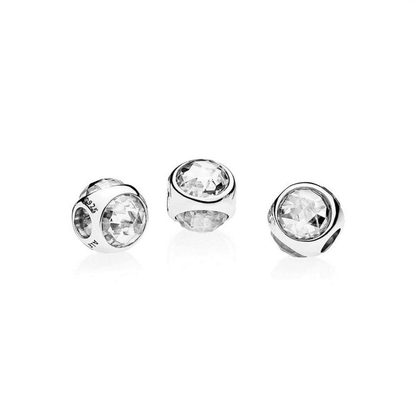 11f1f8f49 Pandora Radiant Droplet Charm, Clear CZ 792095CZ, Pandora Jewelry ...