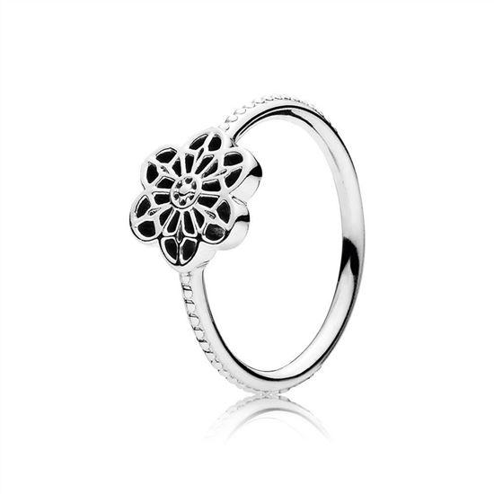 d6291639d Pandora Floral Daisy Lace Ring 190992, Pandora Charms, Pandora Jewelry  Outlet