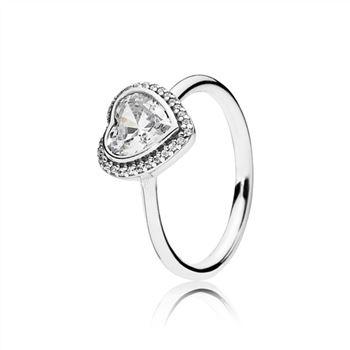 dfefe639d Pandora Starshine Solitaire Ring 190977CZ, Pandora Charms, Pandora Rings