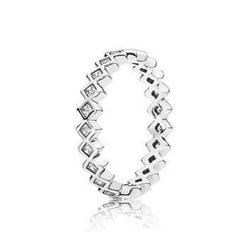 Pandora Alluring Princess Ring, Clear CZ 190944CZ